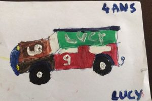 Lucy Torres 4ans