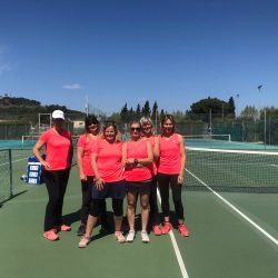 Illustration : De brillants résultats pour le Tennis Club de Marseillan